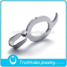 Haute Qualité En Acier Inoxydable Lettre Q Pendentif Colliers Haute Polonaise Lettre De La Mode Pendentif Charm