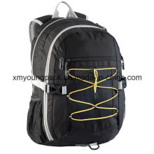 Black Lightweight Strong Versatile Backpack Bag for School
