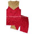 Pantalones cortos y camiseta de diseño venta caliente moda