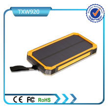 5V 2A a entré la double banque d'énergie solaire de ports d'USB