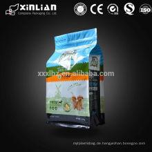 Katzenstreu Verpackung Mit quadratischen Boden Taschen, Tier Lebensmittel Verpackung Tasche