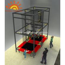 Aeroball-Trampolin-Park-Struktur-Spielplatz