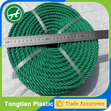 HDPE twisted synthetic rope
