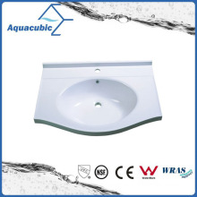Sanitaryware Polymarble Single Lever Wash Basin Acb6055