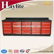 Banco de trabajo del cajón del metal resistente de 10ft para el taller del garage Banco de trabajo del cajón del metal resistente para el taller del garage