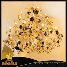 Elegance Rose Hotel Project Decoration Chandelier Light (NLX8862-27)
