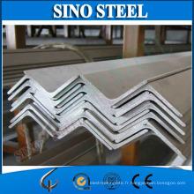 Support angulaire de coin de fer / résistance à la traction de la barre d'angle en acier