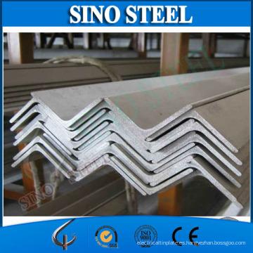 Ss400-Ss540 ASTM, GB, JIS Barra de ángulo recto de acero estándar