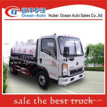 SINOTRUK HOWO 5000liter 5ton mini water sprinkler truck price