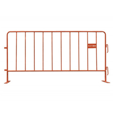 High security Galvanized steel Crowd Control Barrier Fence