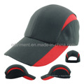 Полиэстер Персиковая кожа Микрофибра дышащая спортивная гоночная шапка (TMR0546)