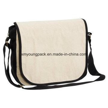 Мода природных хлопка случайные сумка сумка