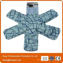 Protecteur de poêle et casserole anti-dérapant antidérapant 100% polyester