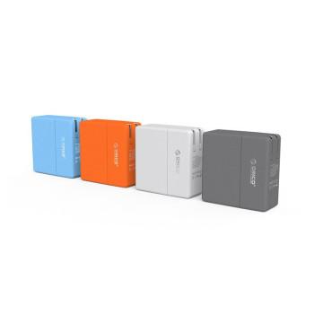 Mejor venta ORICO UK4P 34W 4 puertos USB cargador de pared inteligente para iPhone