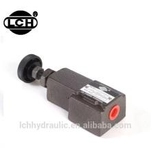 Pièces de rechange de machines à faible bruit télécommande hydraulique valve