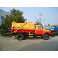 2014 venta caliente 5m3 camión cisterna de la succión de aguas residuales de Dongfeng