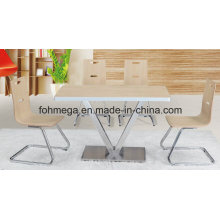 Factory Directly Designer Cafe Table Chair Set (FOH-BC13)