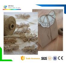 Corde de jauge de fil de jute à 100% 100% naturel de 1 à 60 mm