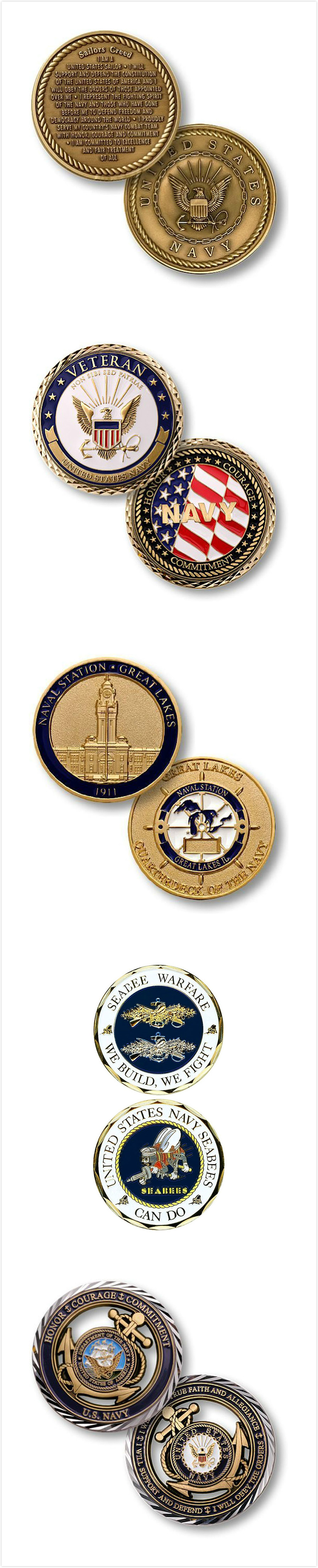 Sailors Creed Coins