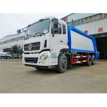 Dongfeng 6x4 compressing garbage truck