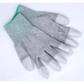 Guantes ajustables superiores de la fibra de carbono antiestática 13Gauge para el uso de la inspección