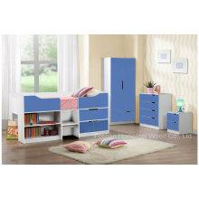 Фабрика оптового современного комплекта спальни детей (HF-BL0326)