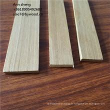 Moulure en corniche de plafond en bois de teck moulée moulures moulures en MDF moulures en bois plates