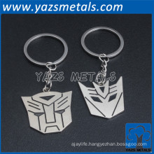 cute Custom metal couple keychain for lovers