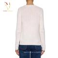 Зима коренастый вязать пуловер сердца дизайн свитер для женщин