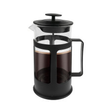 650mL Plastic Bottom Glass French Press Coffee Maker