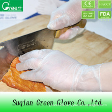 Clear Food Processing Kitchen Glove