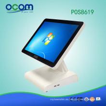 Terminal POS / sistema POS de pantalla completa de 15 pulgadas (POS8619)