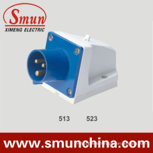 Wall Mounting Plug 16A/32A 220V IP44 3pin