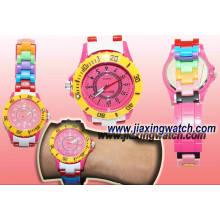 Высокое качество Радуга пластик часы (Д1) для продажи