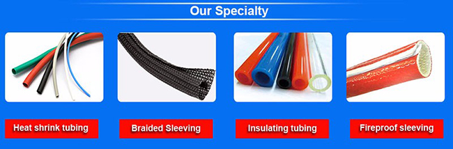 Fiber Glass Braided Sleeving