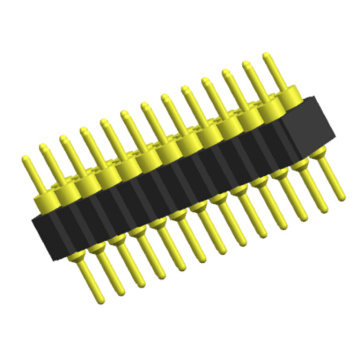 Bewerkte penconnector 2,54 mm Double Row Straight