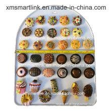 Handy Sculpture Resin Chocolate, Doce e Bolos Refridgerator Promoção Ímã Presentes
