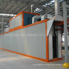 Powder Curing Oven with Power&Free Conveyor