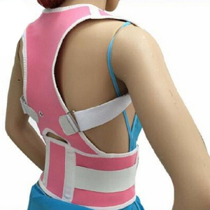 Upper back posture corrector clavicle support brace