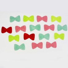 Bowknot pieces felt sticker