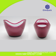 Colorful steel ice bucket wholesale