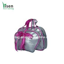 Qualitativ hochwertige Farbe Silber Kosmetiktasche gesetzt (YSCOS00-8315)