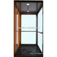 Safety glass villa elevator for residence