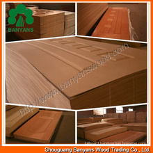3mm and 4mm HDF Melamine Doorskin / HDF Moudle Doorskin