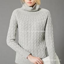 PK17A001MS Cashmere Turtle neck pullover