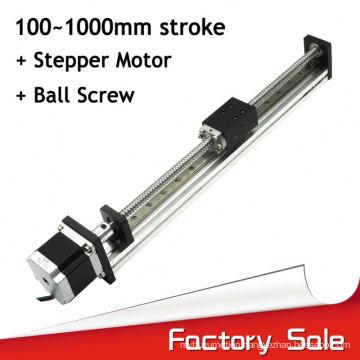 Customized Aluminium Motorized Linear Slide For Cnc Machine