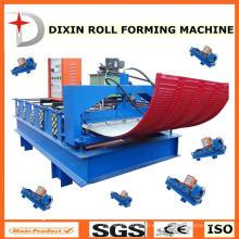 Máquina formadora de rollo de hoja de tejado Dixin Curve