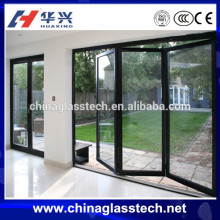 Prefabricated laminated safety glass sunroom