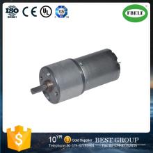 Motor reductor de reducción de bajo ruido Motor Pony de DC, mini motor micro, motor de engranajes pequeños, motor de cepillado