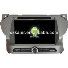 Reprodutor de DVD do carro do sistema de Android para o alto de Suzuki com GPS, Bluetooth, 3G, iPod, jogos, zona dupla, controle de volante